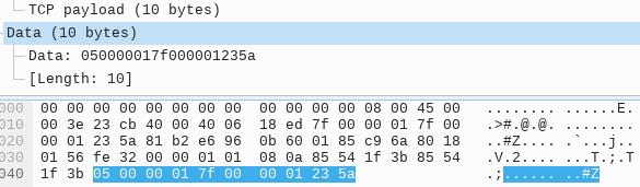 UDP 中继指令 - 应答数据包