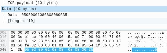 UDP 中继指令数据包